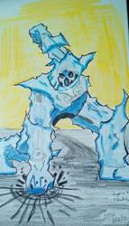 Ms Doodle Knight's Negative color preview.