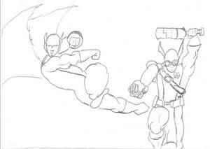 Dragonstar And Mace New Look Sketch