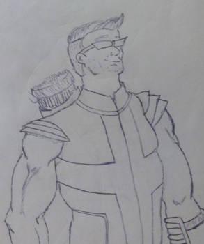 me as Hawkeye