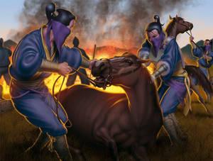 The Horses Die