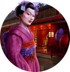 Geisha by sthefo