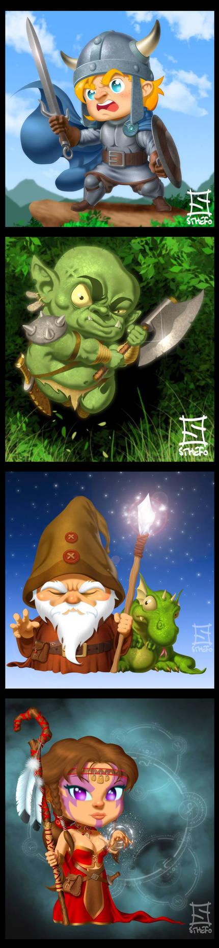 Fantasy Chibi
