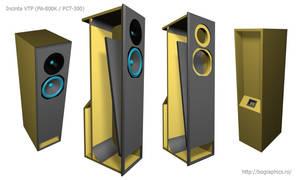 VTP enclosure audio speakers