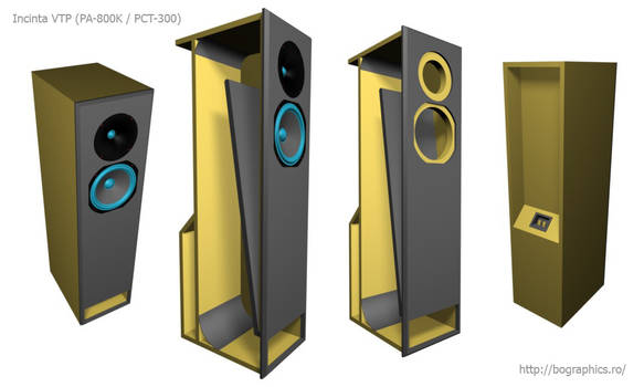 VTP enclosure audio speakers