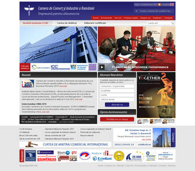 Another CCIR website mockup
