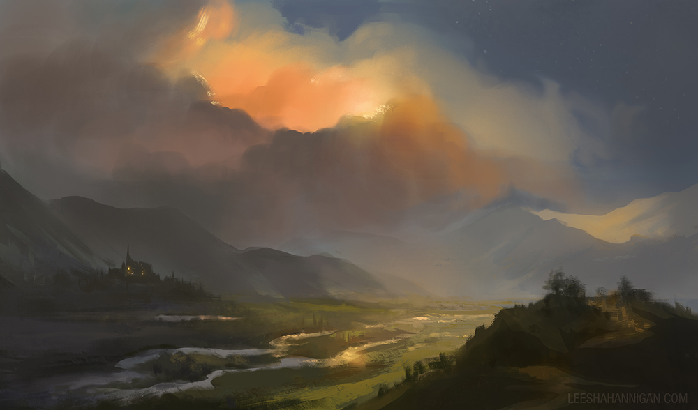 Sunkissed Valley by LeeshaHannigan