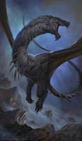 Black Wyvern by LeeshaHannigan