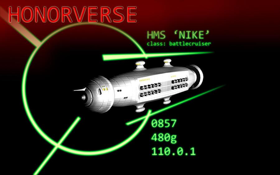 Honorverse: HMS Nike by Rastrelly