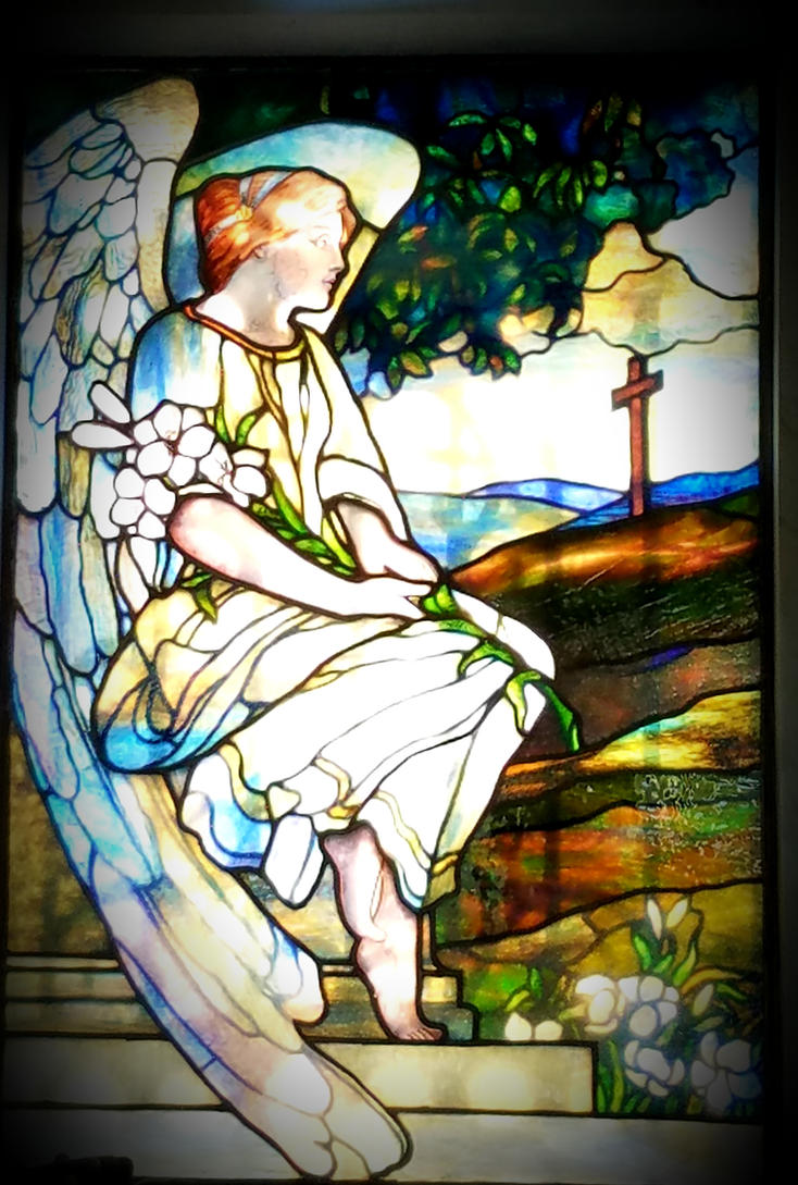 Angel in Stained Glass by GUDRUN355