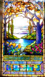 Stained Glass in Hawley Memorial by GUDRUN355