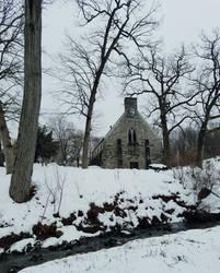 Evergreen Chapel by GUDRUN355