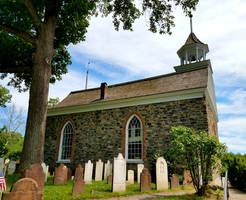 Old Dutch Church and graves
