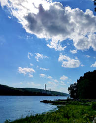 River in July