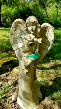 Angel and Bird