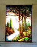 Path -Stained Glass