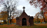 Old Crypt in Autumn