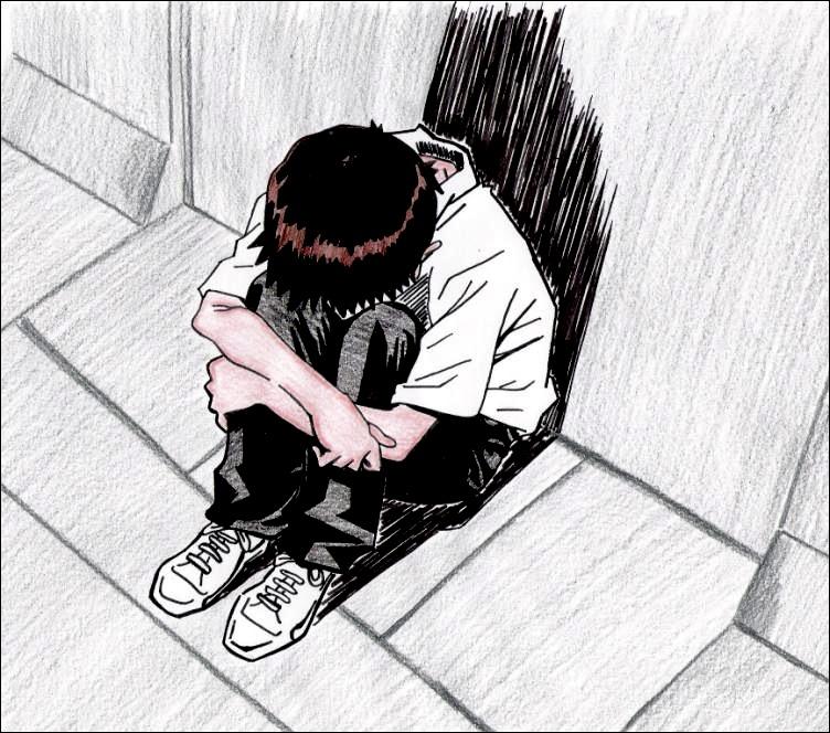 Depression by bettinaminamino on DeviantArt