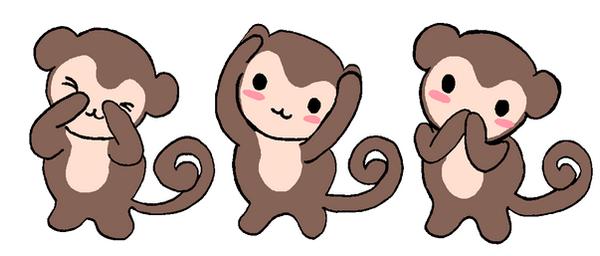 monkey see, monkey do by bettinaminamino