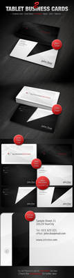 2 Tablet Business Cards by Jones500