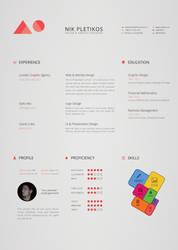 Creative Resume by Jones500