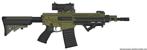 CXM-32 Assault Rifle by Donsoa