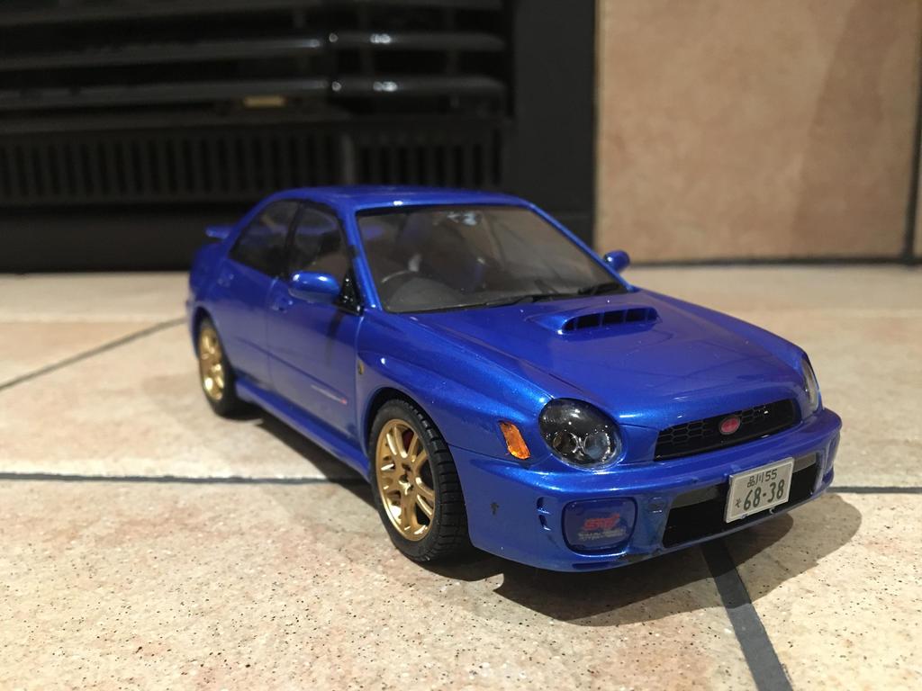2001 Subaru Impreza WRX STI by Donsoa