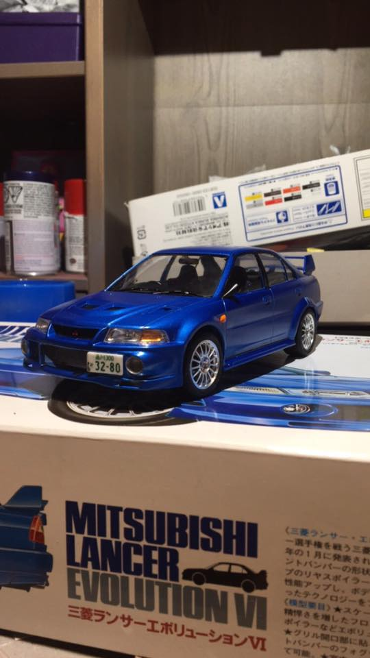 Tamiya 1/24 Mitsubishi Lancer Evolution VI by Donsoa