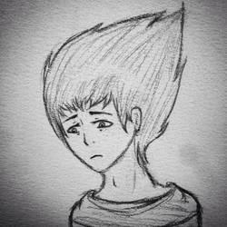 Kai Smith Headshot Doodle