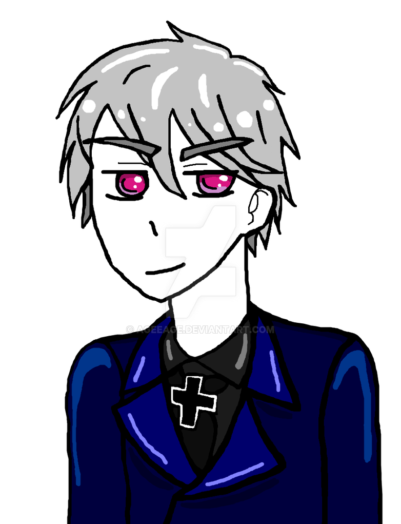 *MS Paint* APH Prussia by AgeeAge