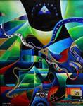 Joseph in Egypt acrylic versio