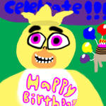 Chica Wishes You A Happy Birthday