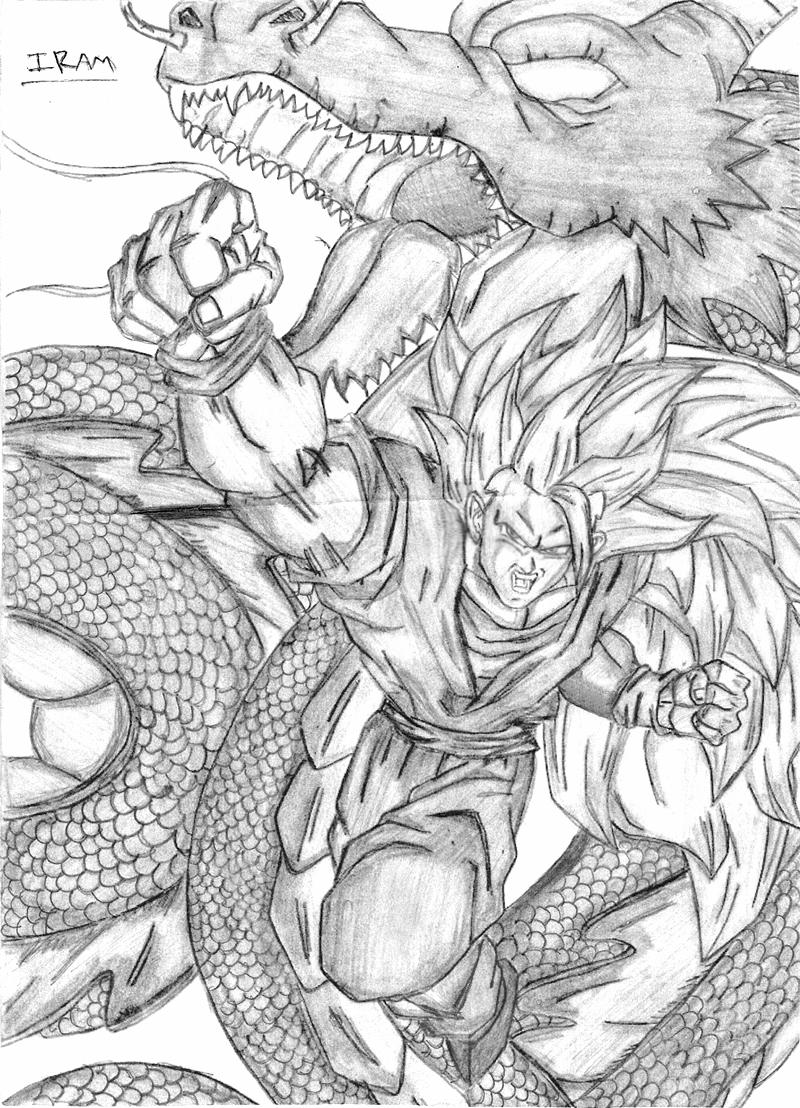 Mis Dibujos De Goku Hecho A Lapiz - Taringa!