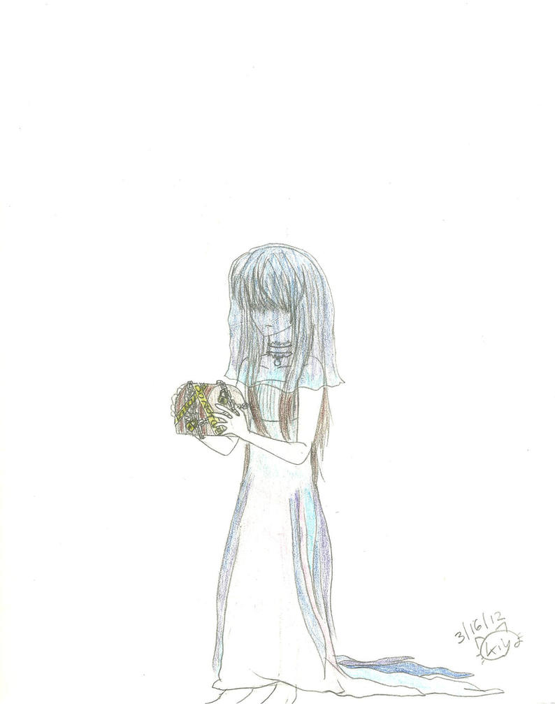 Blue bride by KiyaSparleVampire