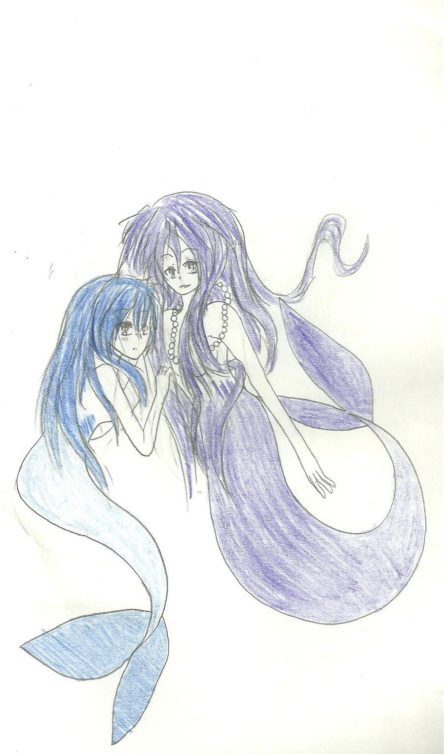 My little mermaids by KiyaSparleVampire