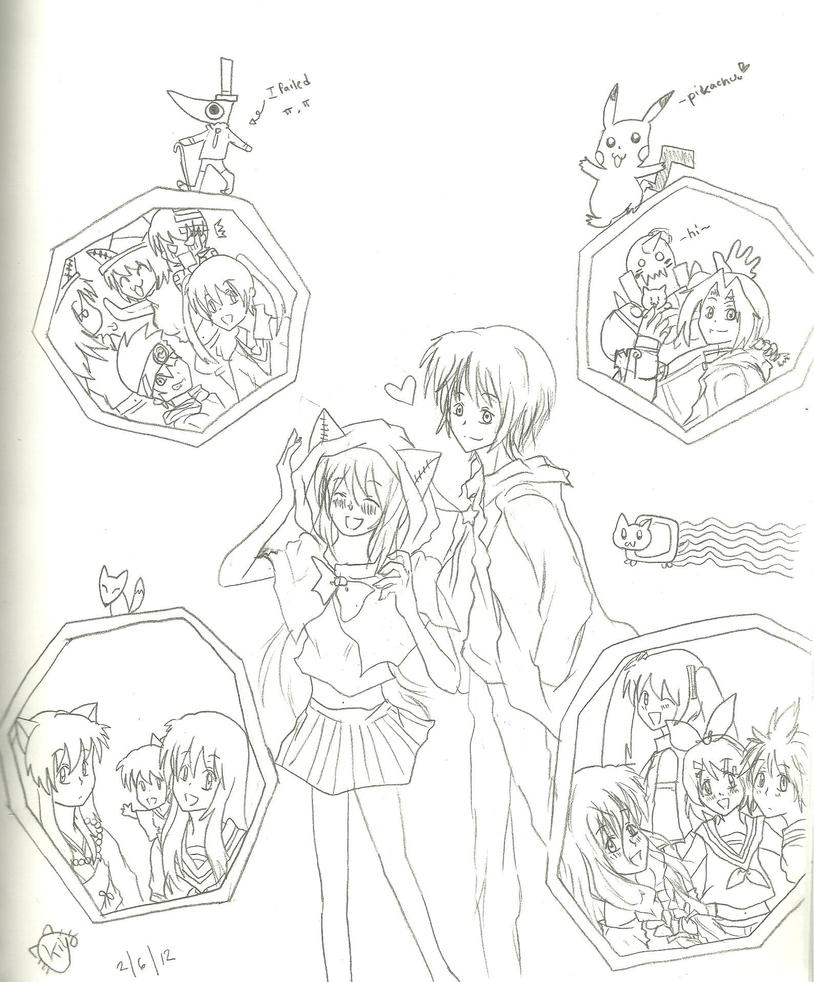Love of Anime by KiyaSparleVampire