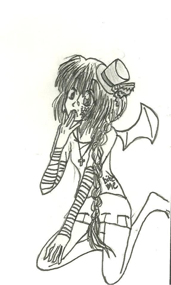 Devil Hatter by KiyaSparleVampire