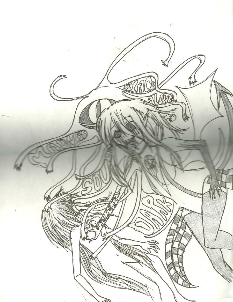 Devil's hunger by KiyaSparleVampire