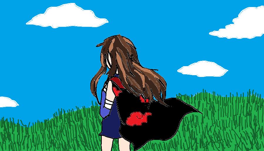 Yumi and the coat by KiyaSparleVampire