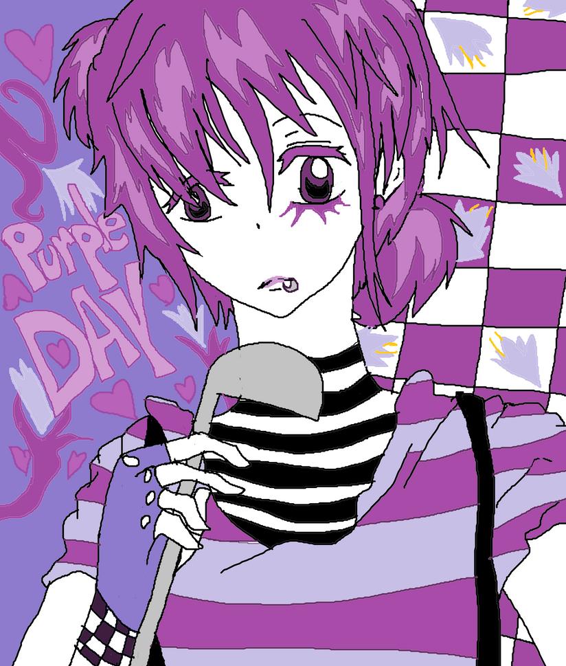 PURPLE DAY by KiyaSparleVampire