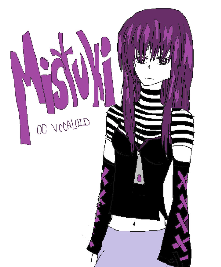 Mistuki the vocaloid by KiyaSparleVampire