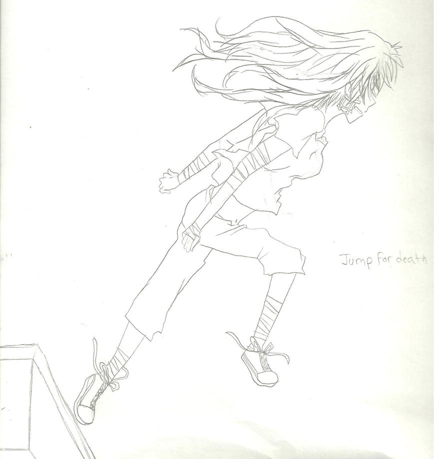 Jump for death by KiyaSparleVampire