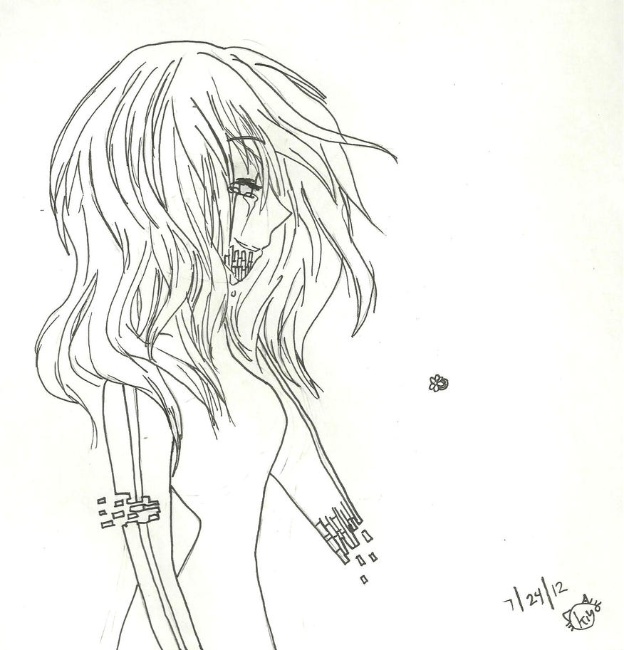 Do  Homunculus go to heaven? Line draWinG by KiyaSparleVampire