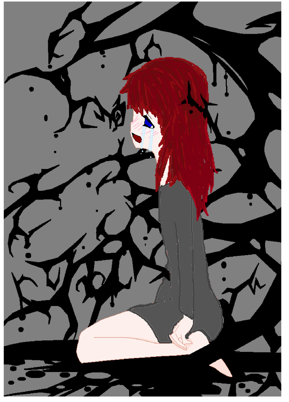 Sad Darkness by KiyaSparleVampire