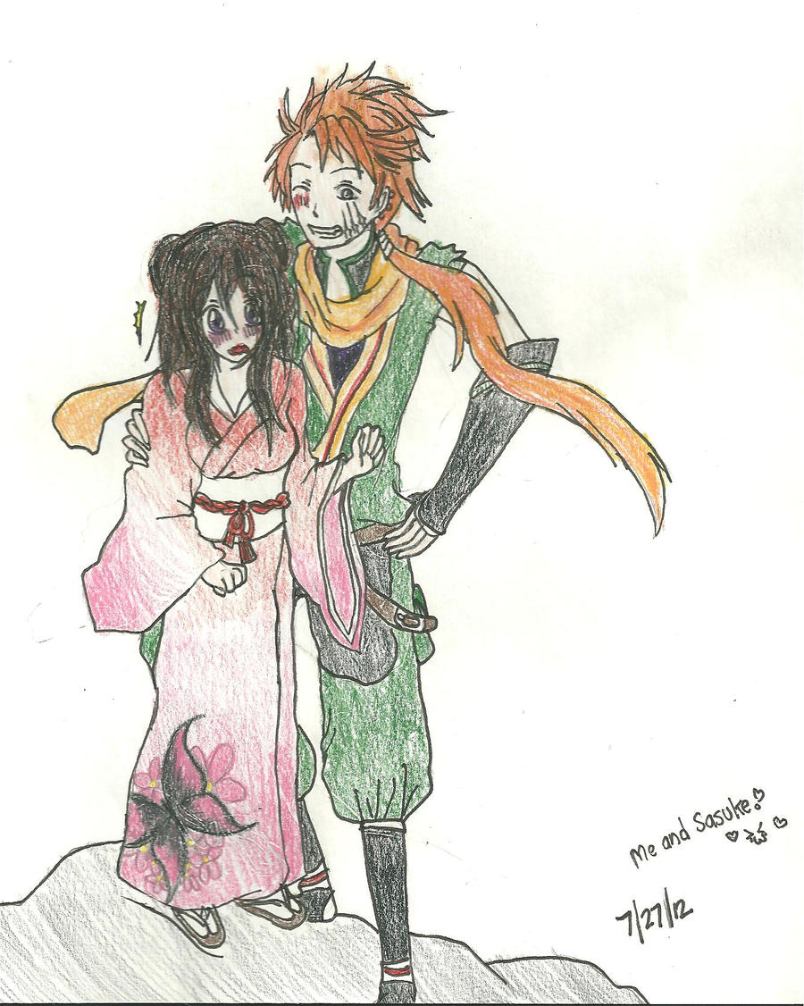 Sasuke and Me by KiyaSparleVampire