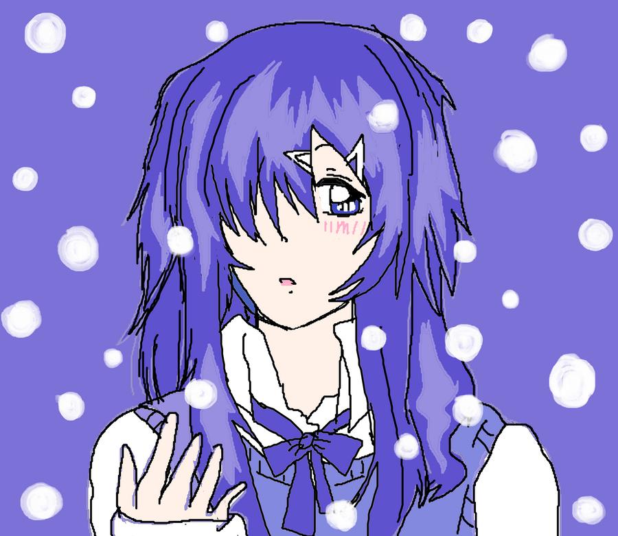 Mistuki's Snow by KiyaSparleVampire