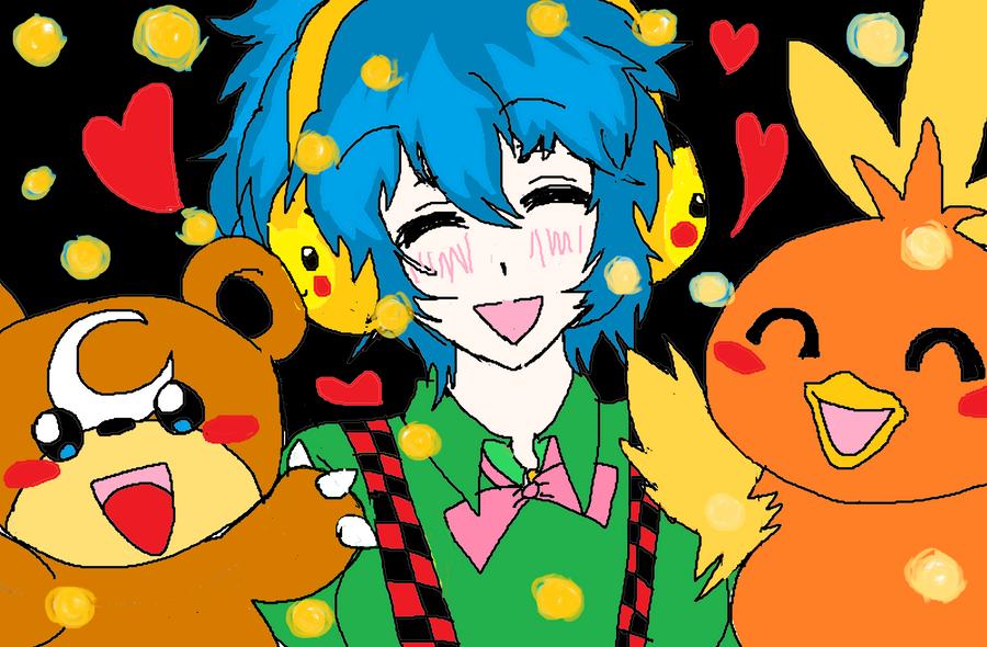 My Pokemon and Me by KiyaSparleVampire