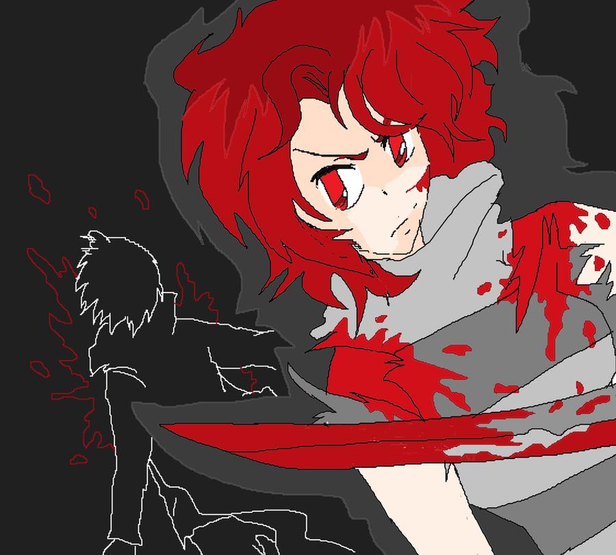 Bloody Rage by KiyaSparleVampire