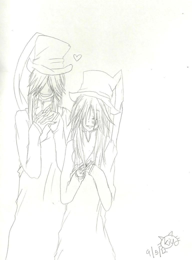 Anna and Undertaker by KiyaSparleVampire