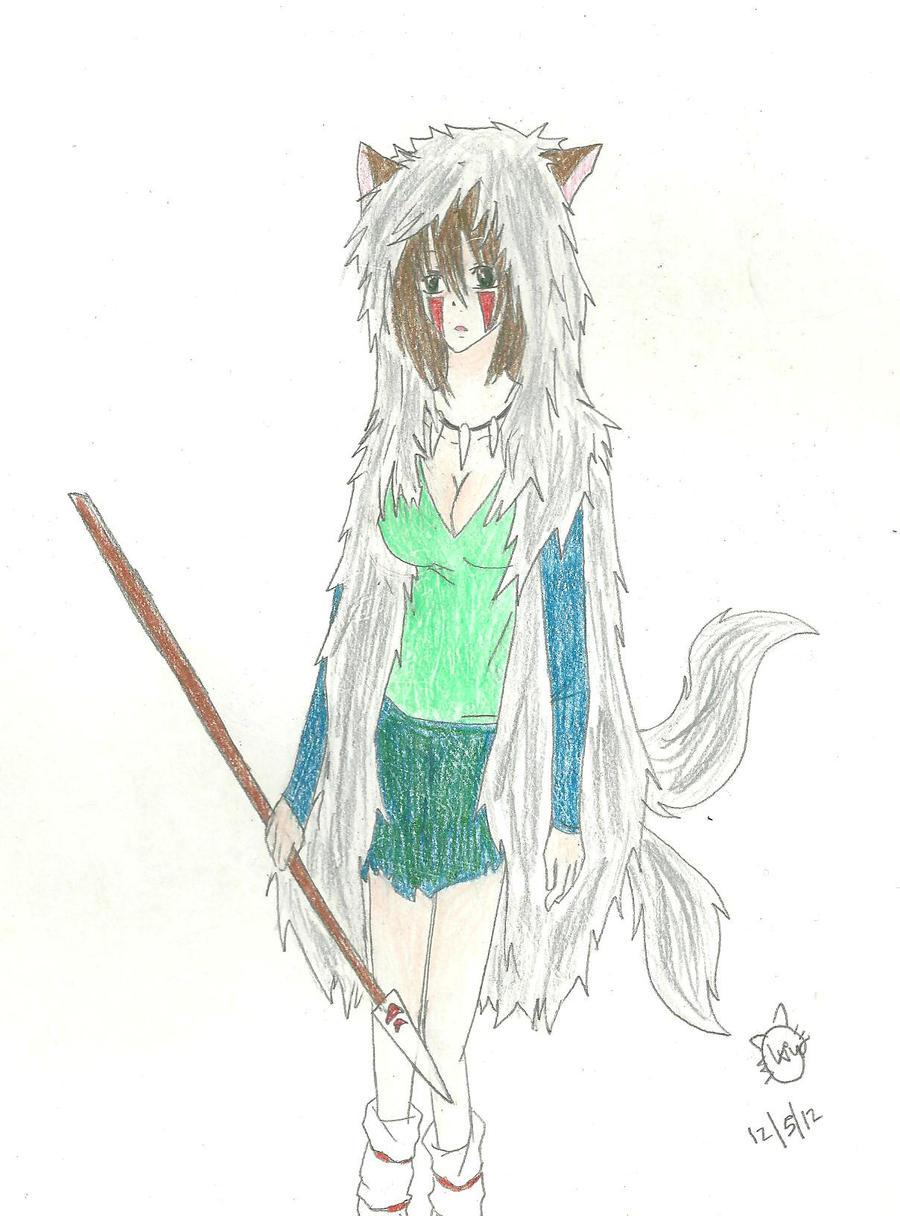 Saito Wolf Princess by KiyaSparleVampire