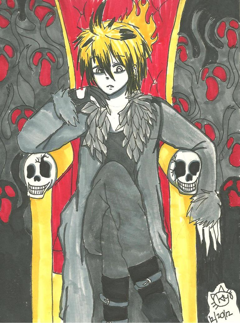 Lord Hagane Len~ by KiyaSparleVampire